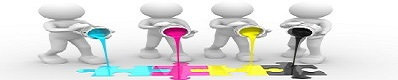 4st 3D gubbar haller farg ur fargburkar2